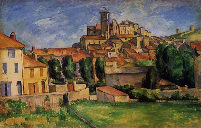 Gardanne par Cézanne