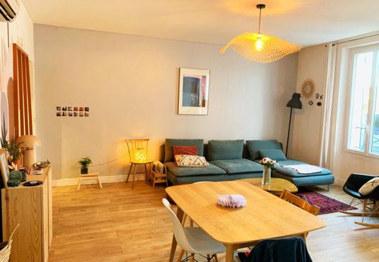 Grand Appartement Bouc Bel Air T3 85 m2 + cave