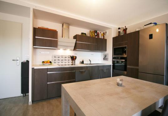 Bouc Bel Air : Appartement T3 jardin + Garage + Parking