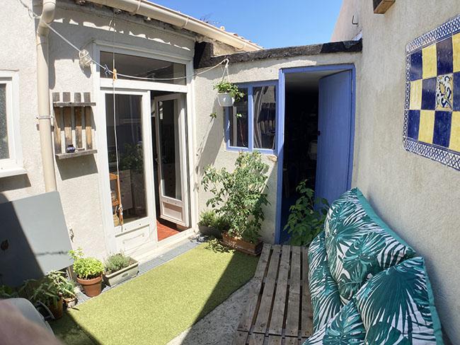 maison de ville avec exterieurs 13006 Marseille